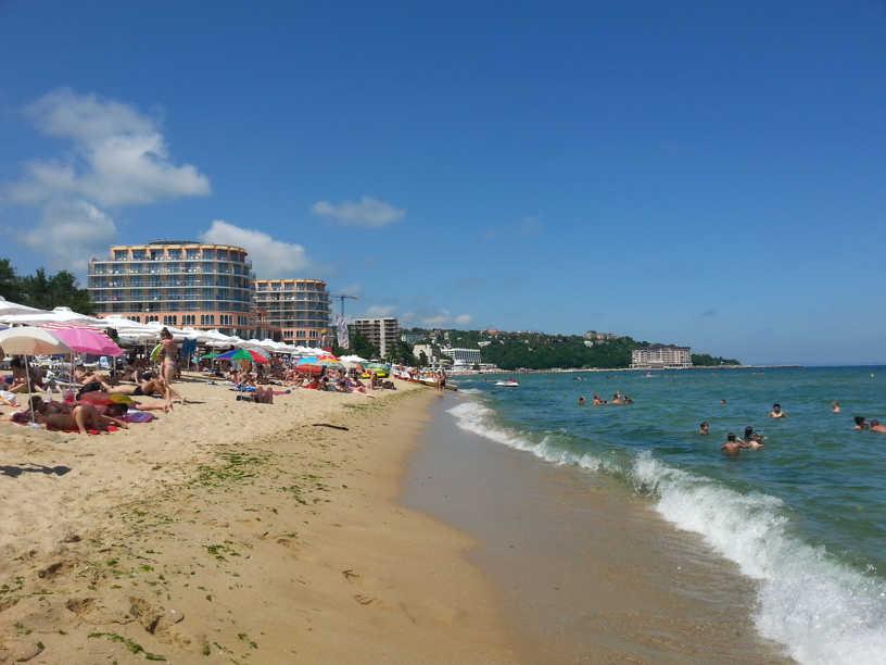 Plaża w miejscowości Św. Kontantyn i Elena