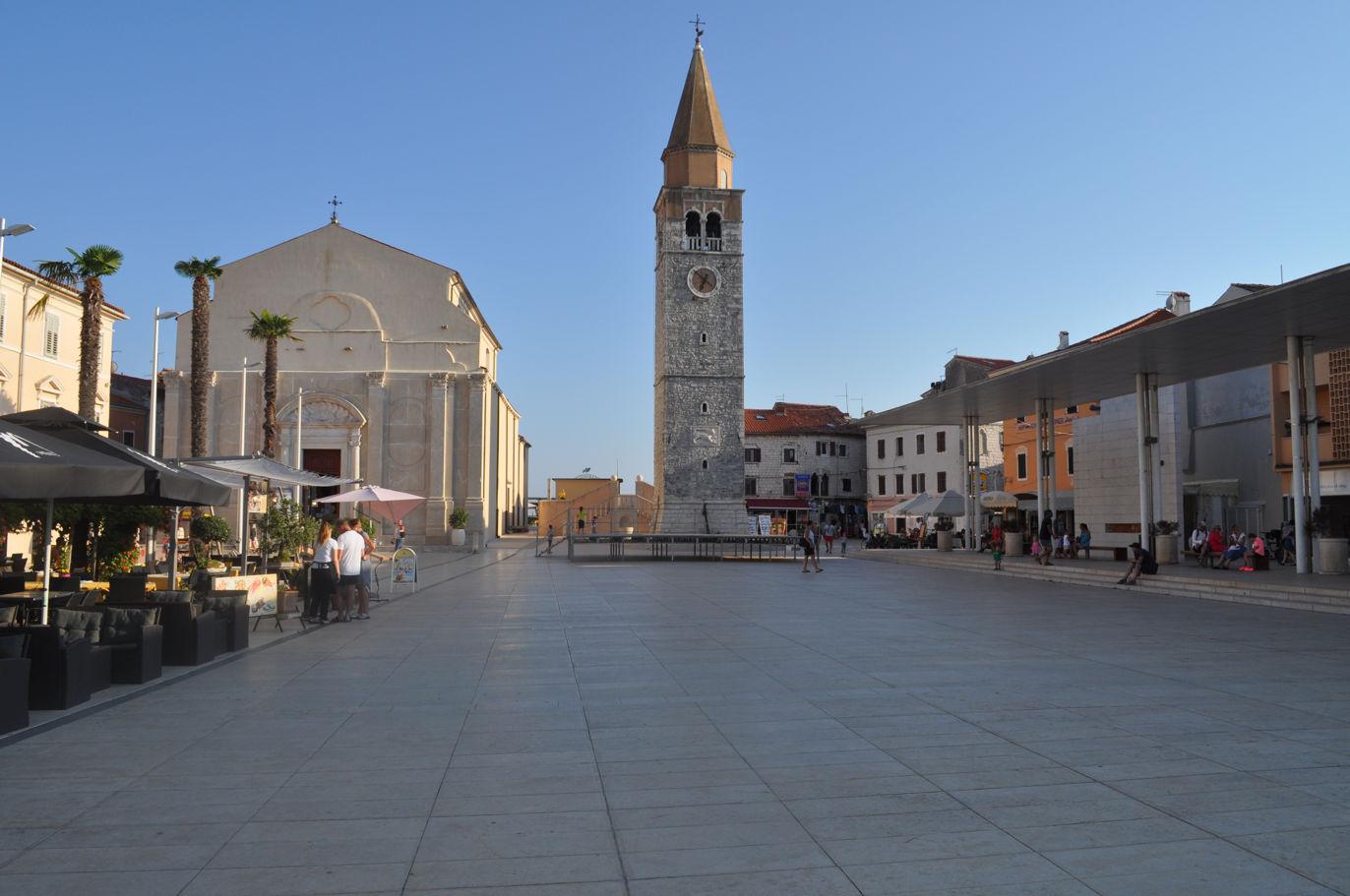 Rynek w Umag (Chorwacja)